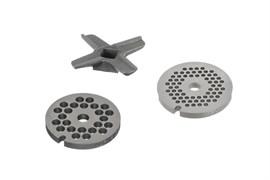 Набор для мясорубки: нож + два формовочных диска Bosch 00578604 для MFW15.., MUM4/5..