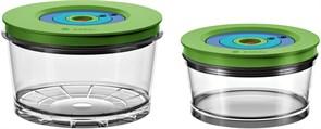 Набор: контейнеры для вакуумизации малый (750 мл) + большой (1500 мл) Bosch 17002895 для MMBV6..