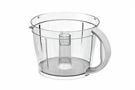 Смесительная чаша, прозрачная с белой ручкой Bosch 00702186 для MCM55..