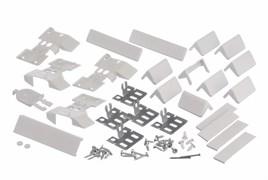 Bosch 00491365 Комплект плоских шарниров, для 2-х дверей, для KIM/E.., KIN/U.., KIS/V..
