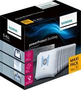 """Мешки-пылесборники Siemens 17002855 PowerProtect, тип """"G ALL"""", двойная упаковка"""