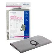 Мешок-пылесборник Euroclean EUR-708 многоразовый с пластиковым зажимом для пылесоса
