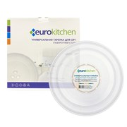 Тарелка Eurokitchen для СВЧ-печи, тип вращения крестовина, 245 мм N-01