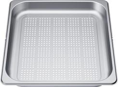 """Bosch 11027160 Перфорированный лоток из нержавеющей стали, размер """"L"""", 354x325x40 мм"""