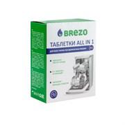 BREZO 87466 Таблетки ALL IN 1 для посудомоечной машины, 20 шт.