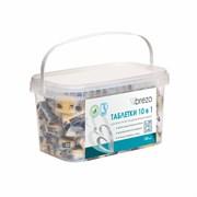 BREZO 97496 Таблетки ALL IN 1 бесфосфатные в водорастворимой пленке для посудомоечной машины, 100 шт.
