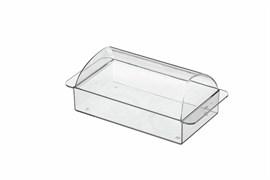 Bosch 00645932 Маслёнка для холодильника, прозрачная/голубая