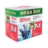 Таблетки Filtero для посудомоечных машин 7 в 1, 150 штук