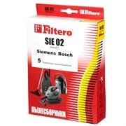 Мешки-пылесборники Filtero SIE 02 Standard, 5 шт, бумажные для Bosch, Siemens