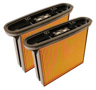 Фильтр складчатый из целлюлозы 2 шт. для пылесоса Bosch  GAS-50